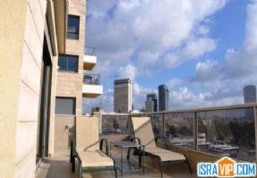 краткосрочная аренда 3 ком. дуплекса в Тель-Авиве