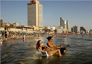 Набережная в Тель-Авиве, Израиль. Элитная недвижимость в Тель-Авиве